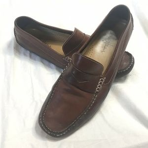Cole Haan C04534 Men's Brown Leather Loafer 10.5M